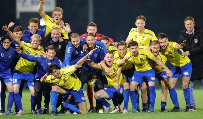 O.S.S.'20 naar hoofdtoernooi van TOTO KNVB Beker. (Foto: Jeroen Engelen)
