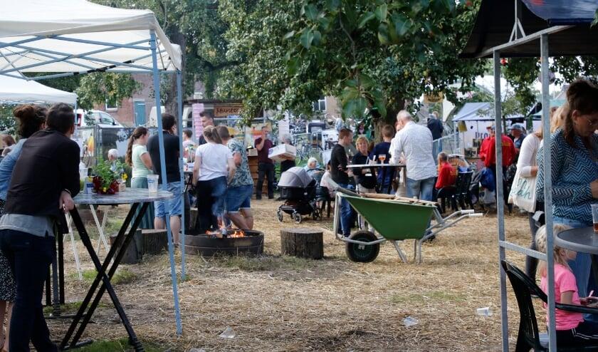 <p>Het was gezellig druk op het In den Boomgaard festival. (Foto: Bas Delhij).</p>