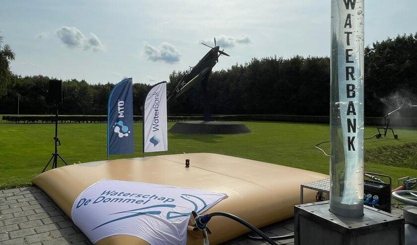 <p>In aanwezigheid van demissionair minister Visser is De Waterbank maandag 13 september officieel gelanceerd. </p>