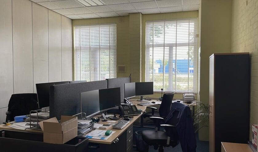 De schermen bij dit ICT-bedrijf vielen plotsklaps uit.