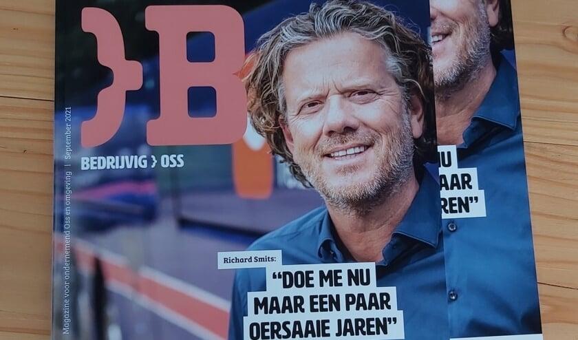 De cover van Bedrijvig Oss.