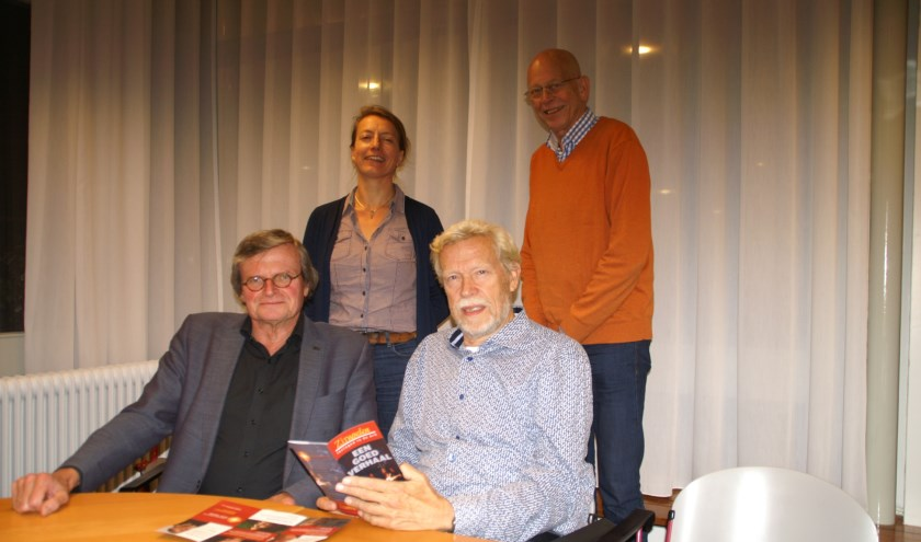 v.l.n.r.: Anne van Urk, Annet Knol, Ton Schreuders en Albert-Jan Wagensveld