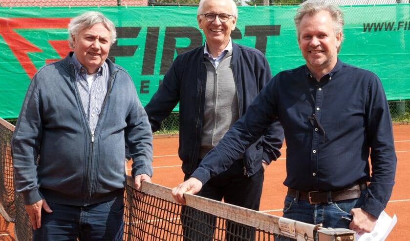 vlnr. Jan de Jong, Steven de Raat en Niels Maree