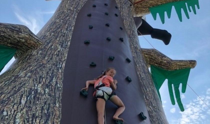 Christanne de Wit was de eerste die de uitdaging aanging.