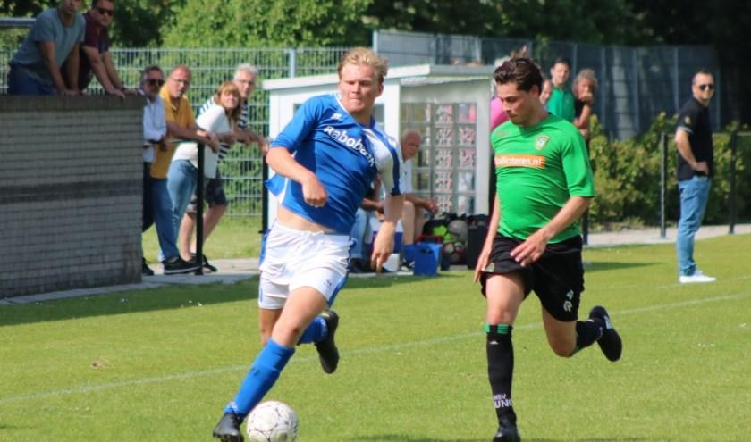 De teruggekeerde Wessel Sterk kwam twee keer tot scoren voor Rohda'76. Archieffoto