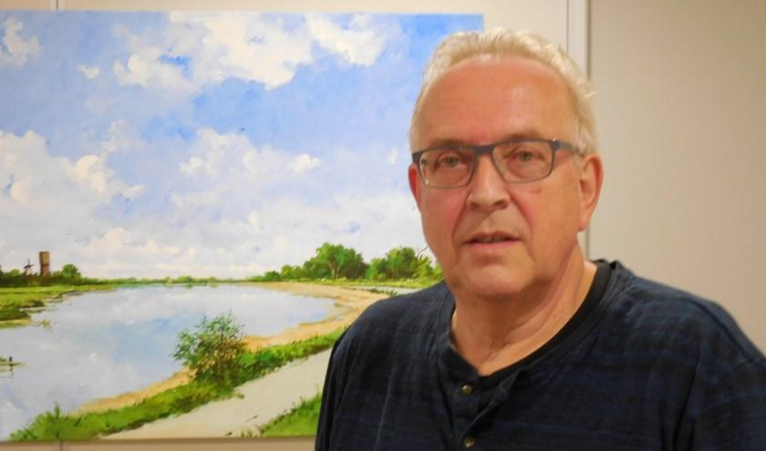 Piet de Rooij zette de zorgen van de omwonenden over de uitbreiding van Siloah uiteen tijdens de inspraakraad.