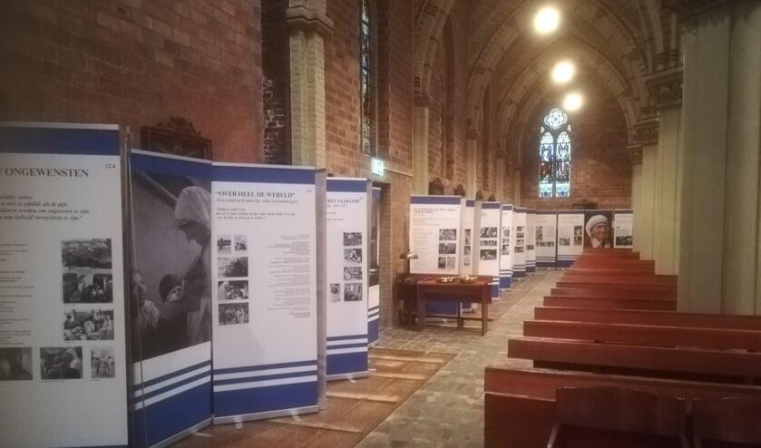 de expositie Moeder Teresa