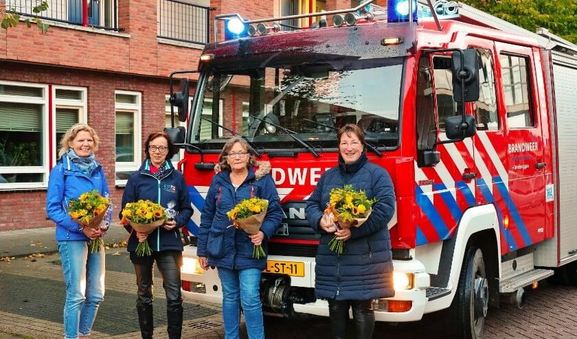 <p>V.l.n.r.: Gea Soeters, Janny van Vliet, Hanny Pastoor, Jos&eacute; Jansen</p>