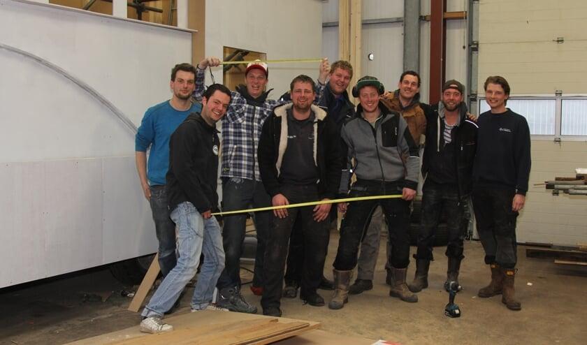 The working team van de Kale Vikings.