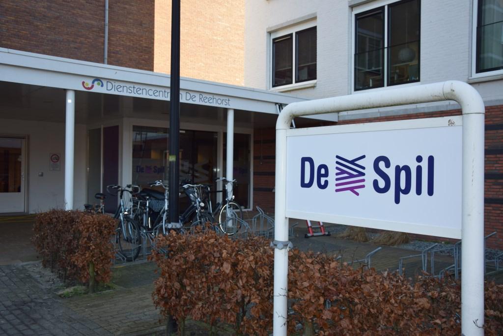 Vooraan het nieuwe logo; op de achtergrond nog het oude logo van het dienstencentrum.  © Graficelly B.V.