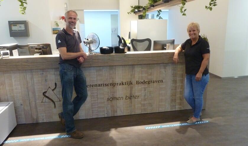 Dierenartsen gezelschapsdieren Eddy van Boxel en Ilse van Boxel.