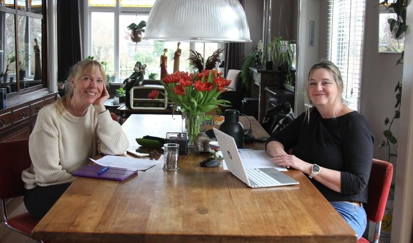 Rechtstreex lokale producten Ellen Fons en Petra Elzinga