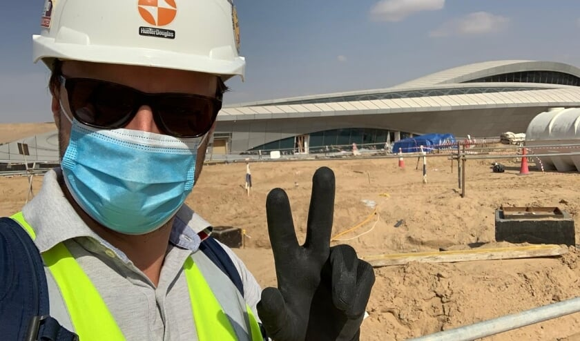 <p>Dubai is het walhalla van de bouwkunde, vindt Wouter. Hij komt voor zijn werk graag op de bouwplaats.</p>