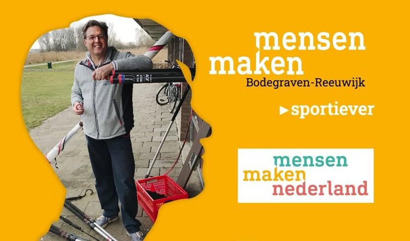 <p>Vrijwilliger Theo Versteeg stond aan de wieg van 12Surf en organiseert het nog steeds.</p>
