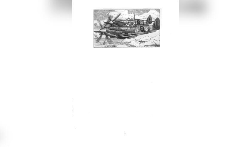 <p>Een Spitfire zoals die vloog over Reeuwijk.</p>