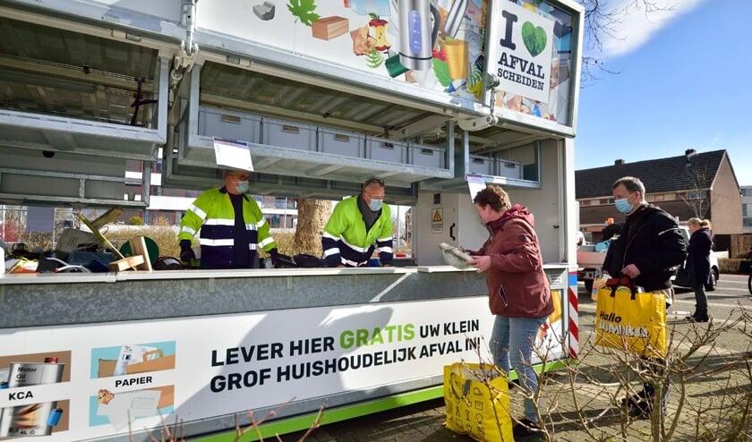 <p>De Mobiele Milieustraat van Cyclus komt in september weer naar de gemeente Bodegraven-Reeuwijk. Beeld: Pim Mul</p>