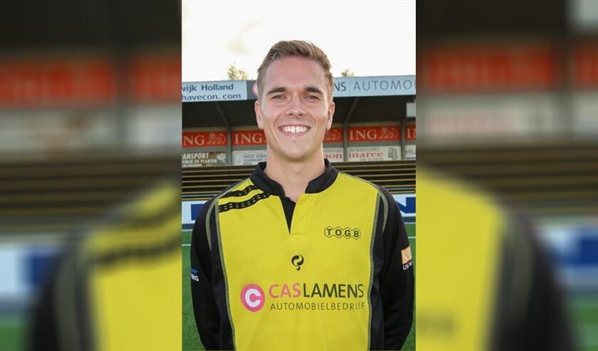 Glenn van der Burg scoorde tweemaal. (Foto: PR/TOGB)