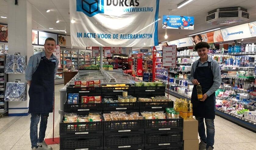 Alle producten van het lijstje stonden in de winkel bij elkaar op een stelling. Handig! (Foto: PR)