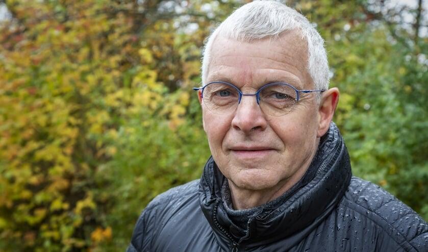 André Nieuwlaat was destijds een van de rechercheurs en heeft nu een boek(je) geschreven  over de zaak. (Foto Victor van Leeuwen)