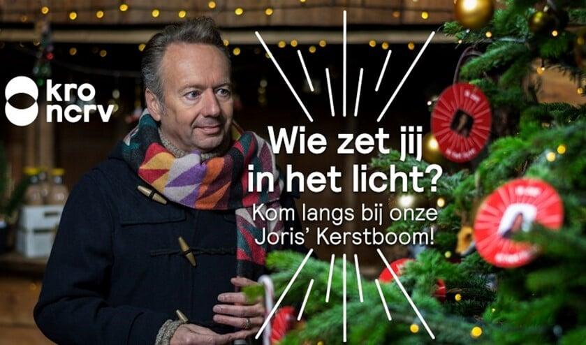 Joris' Kerstboom is de plek waar je de kerstgedachte kunt delen. (Foto: PR)