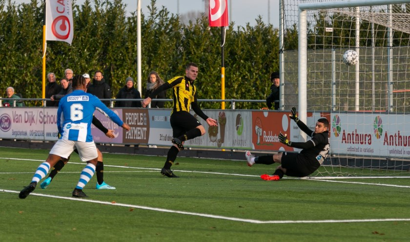 TOGB speelde voor het eerst tegen Vlissingen. De ploegen bleken aan elkaar gewaagd. (Foto: PR)