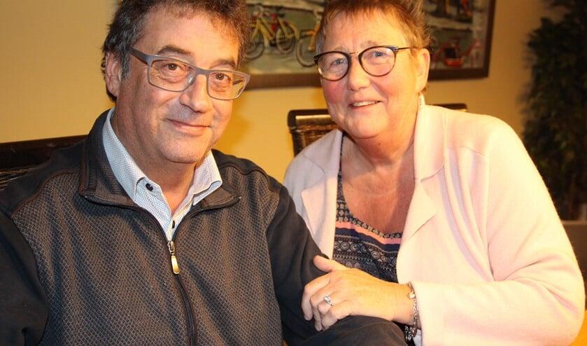 Bep en Ton waren onlangs 36 jaar getrouwd.