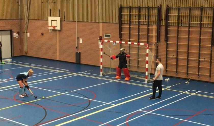 Strafballen speelden een grote rol in de wedstrijden van HVN Dames. (Foto: PR)