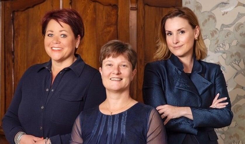 V.l.n.r.: Mirjam Voogd, locatiemanager – Dr. Petra Borsje, geriatrisch specialistt – Drs. Tessa Corduwener, directeur