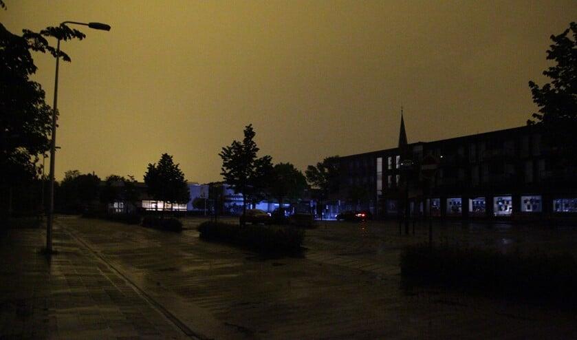 De stroomstoring heeft ruim een uur geduurd. (Foto: Spa Media)