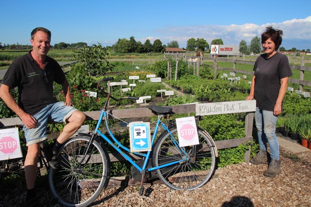 Tuinderij de Groenzoom heeft onder meer een kruidenpluktuin.  © hartvanlansingerland