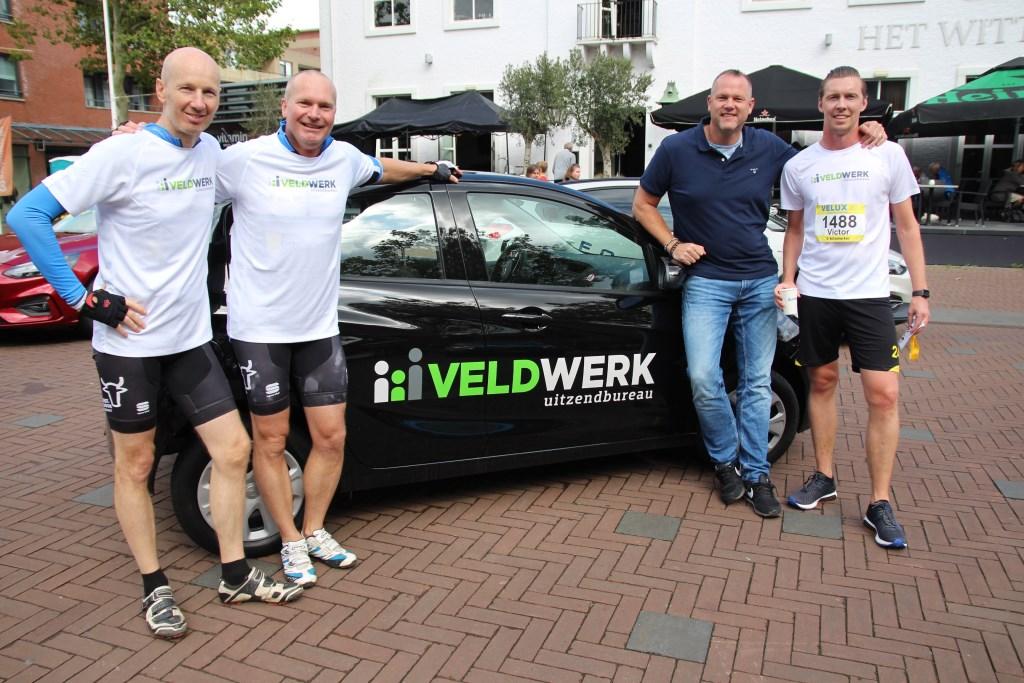 Boris de Veld ondersteunt met zijn bedrijf al drie jaar de Halve Marathon.  © hartvanlansingerland