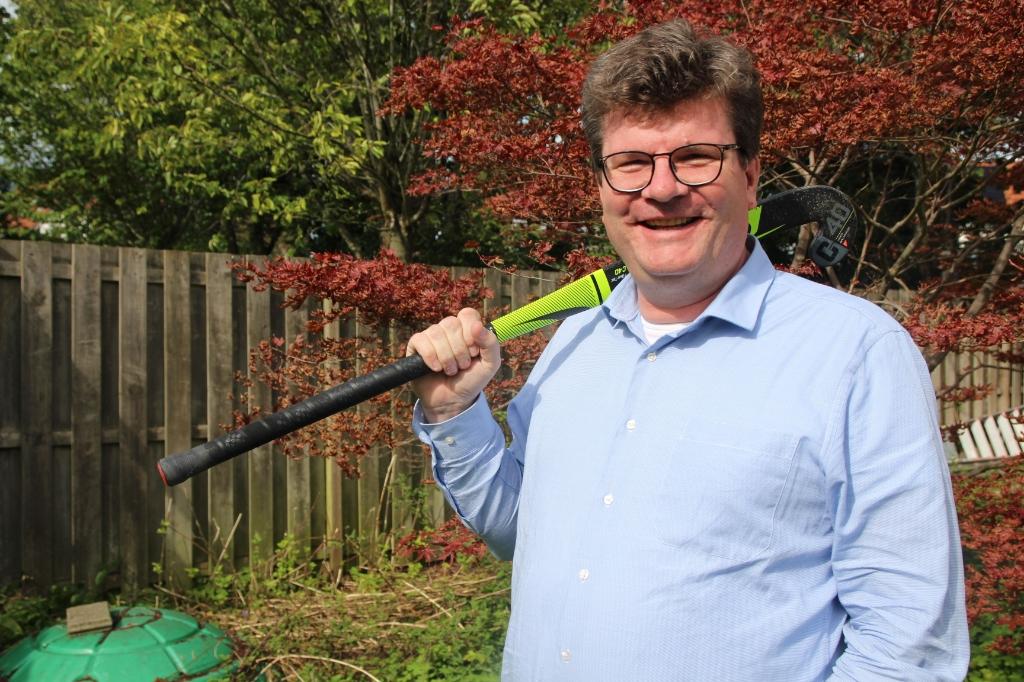Martijn Kruijt is al te lang voorzitter van de Hockey Vereniging Bleiswijk. Wie volgt hem op?   © hartvanlansingerland
