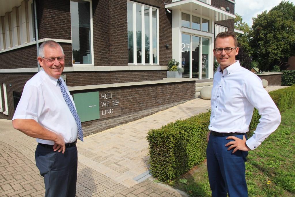 Zoon Jan heeft al zeven jaar de leiding en pa/oprichter Joop neemt donderdag afscheid.  © hartvanlansingerland