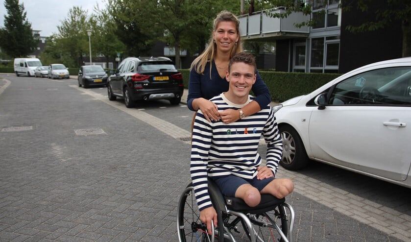 Sinds een paar weken wonen Niels en vriendin Nastasia in Berkel Centrum.