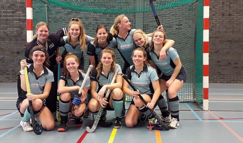 De dames van HBV gaan met frisse moed de tweede helft van de veldcompetitie in. (Foto: PR)