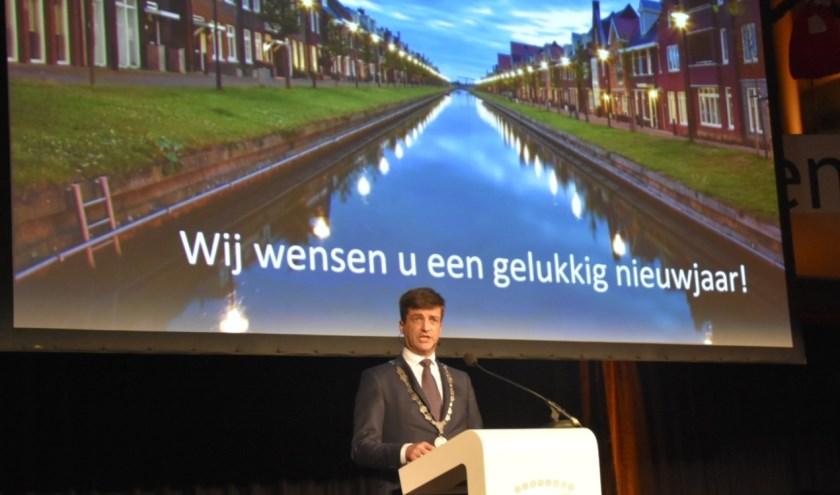 De burgemeester ziet veel kansen voor de toekomst. (Foto: AB)