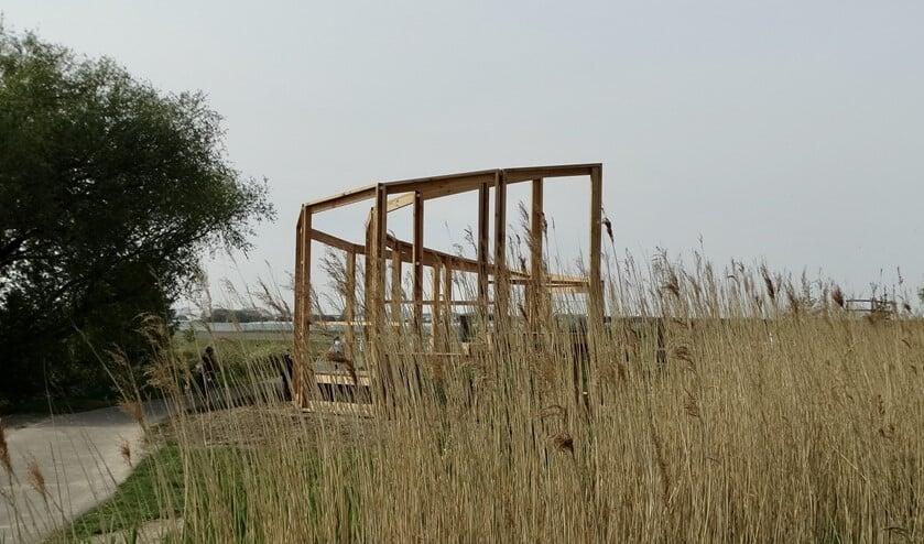 De Rottekijker bij het Bleiswijkse Verlaat werd onlangs als eerste van de vijf geplaatst.