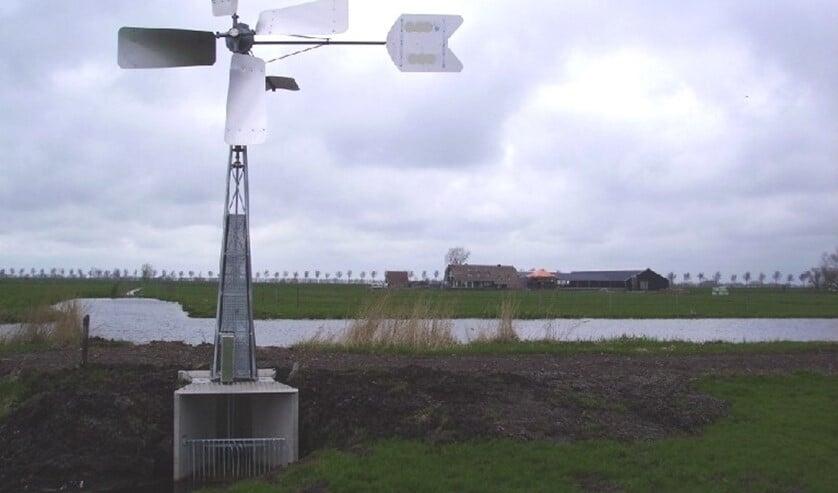 Het nieuwe gemaal komt langs het fietspad, bij de kruising met de Kleihoogt in Berkel en Rodenrijs.