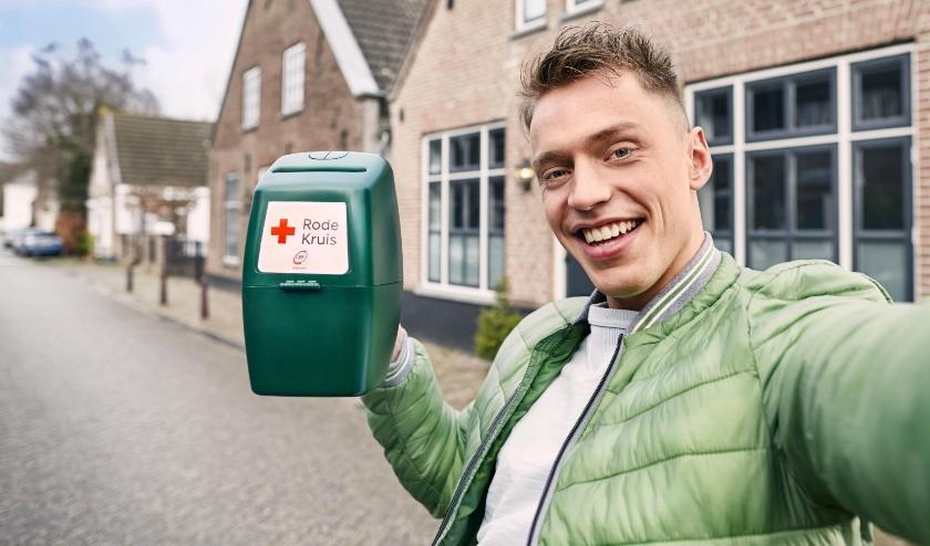 Het Rode Kruis gaat dit jaar niet langs de deuren, maar collecteert digitaal. (Foto: PR/Rode Kruis)