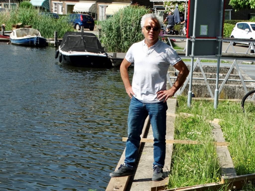Bij de Rotte doet Gérard alweer inspiratie op voor 2021, het themajaar 'Ode aan het Nederlandse Landschap'.  © hartvanlansingerland