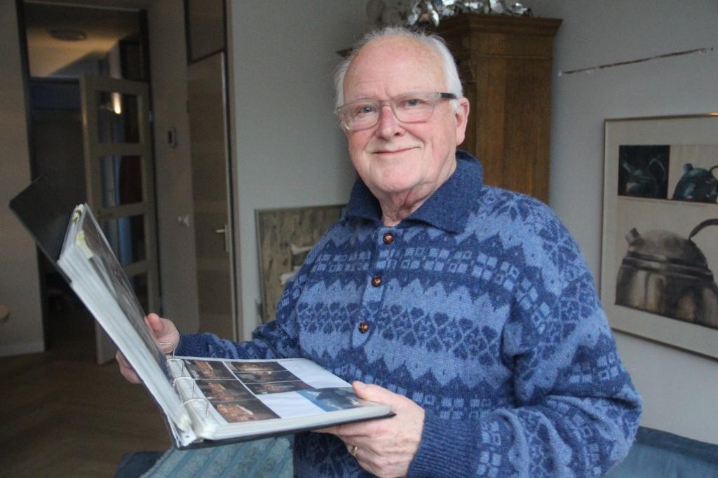 Van beroep was Bart Bos binnenhuisarchitect. Van zijn vader heeft hij het kunstzinnige talent.  © hartvanlansingerland