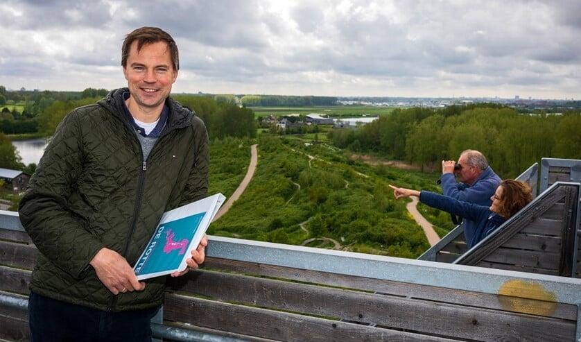 <p>Wethouder Jan Willem van den Beukel: &quot;Nu aan de slag met de &lsquo;groenblauwe ribben&#39;&quot;.</p>