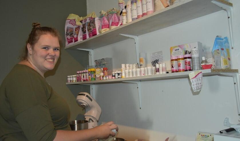 Melissa bakt van jongs af aan