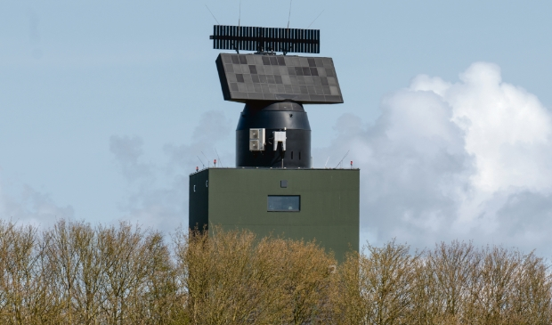 <p>Radarstation in Wier</p>