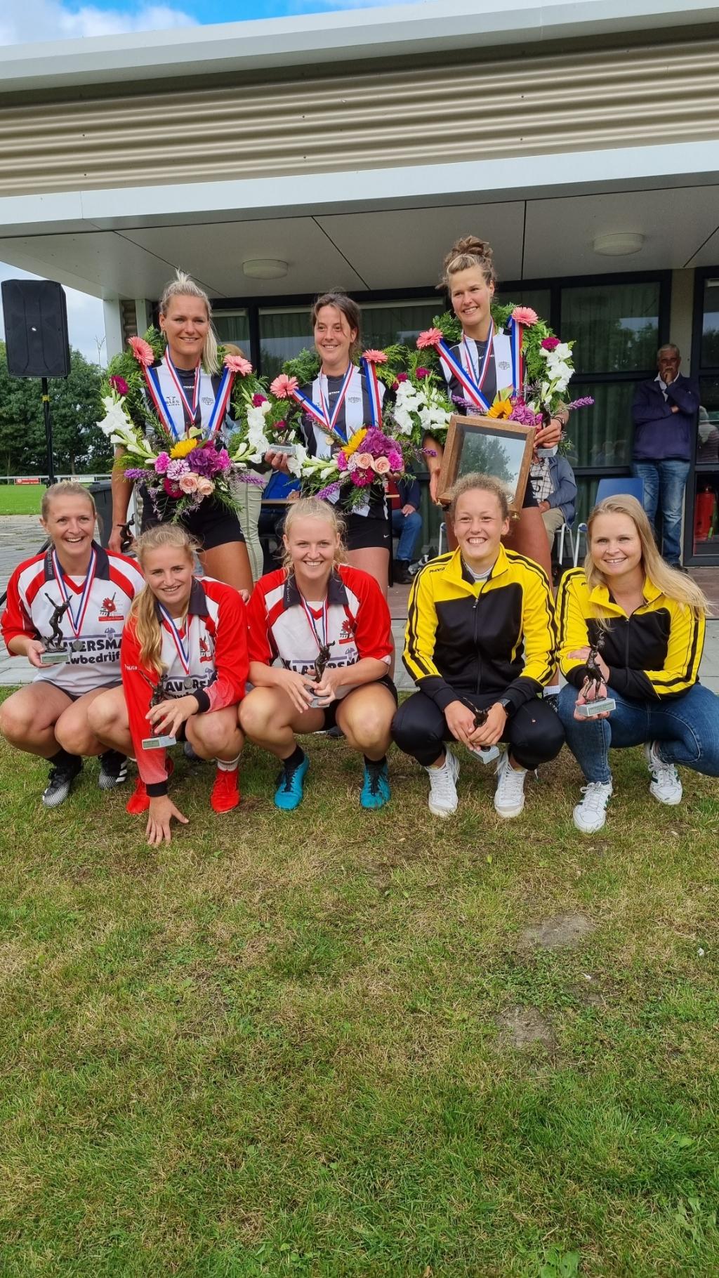 Prijswinnaars NK Dames 2021 Melanie van der Mossel © bildt.nu