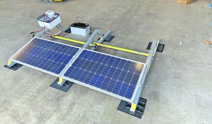 <p>Het Wellantcollege is de firma Van den Pol zeer dankbaar voor de schenking van dit zonnepaneel.</p>