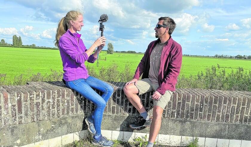 <p>De Montfoortse Dorenda Snieder maakte zondag met haar vriend Maciek Siudmak een vlog voor hun ruim 5.000 volgers op Youtube.</p>