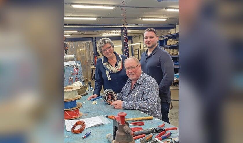 <p>Co, Dineke en Johan Rijswijk</p>