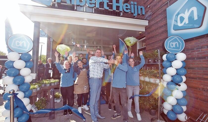 <p>Feestelijke opening van de Albert Heijn Montfoort.</p>