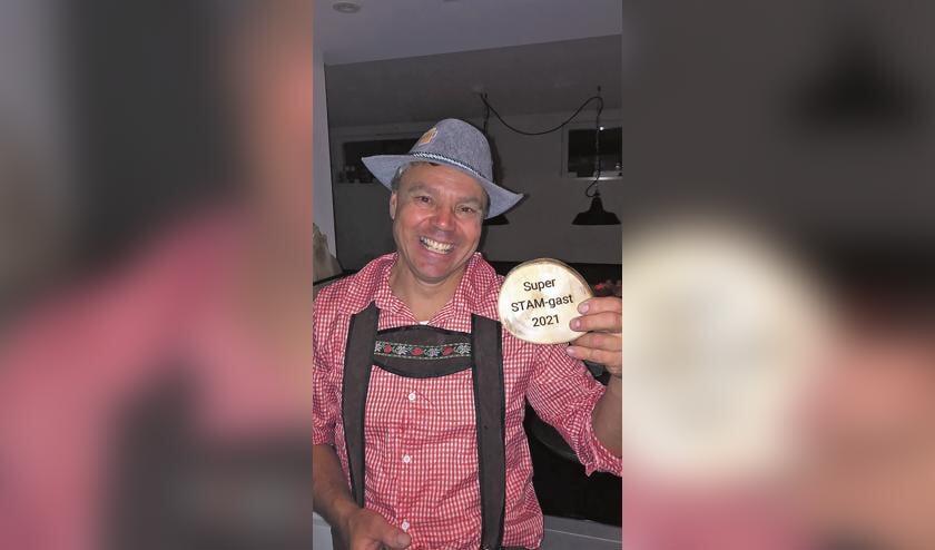 <p>Harold van de Berg werd uitgeroepen tot super STAM-gast 2021.</p>